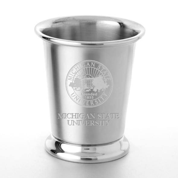 Michigan State Pewter Julep Cup - Image 1