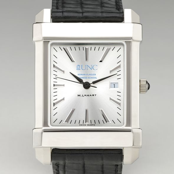 UNC Kenan-Flagler Men's Collegiate Watch with Leather Strap