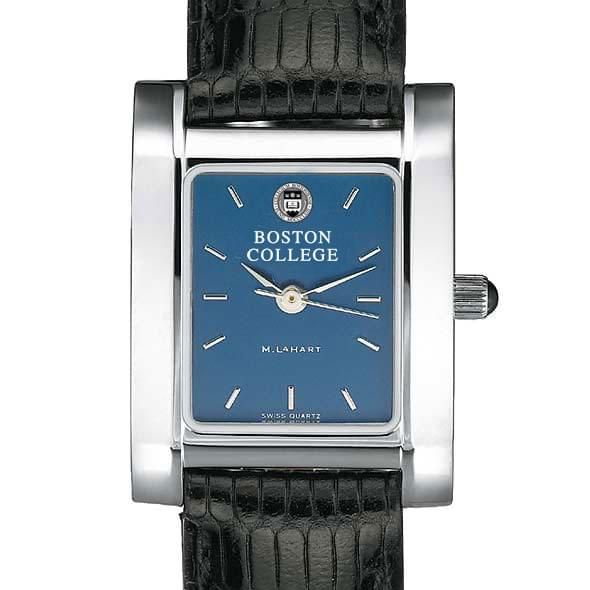 Boston College Women's Blue Quad Watch with Leather Strap