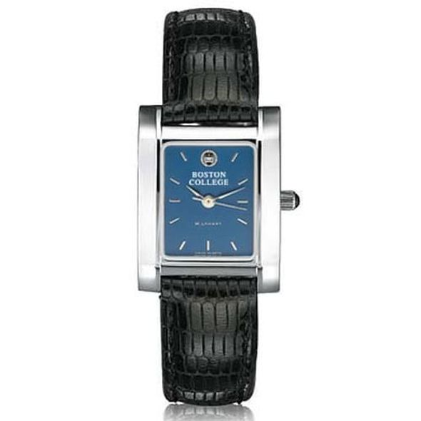 Boston College Women's Blue Quad Watch with Leather Strap - Image 2