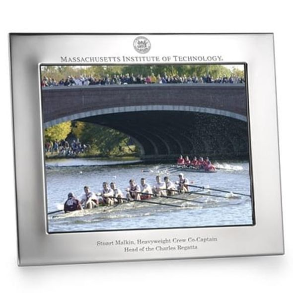 Polished Pewter 8x10 Picture Frame (Landscape) - Image 1