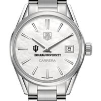 Indiana University Women's TAG Heuer Steel Carrera with MOP Dial