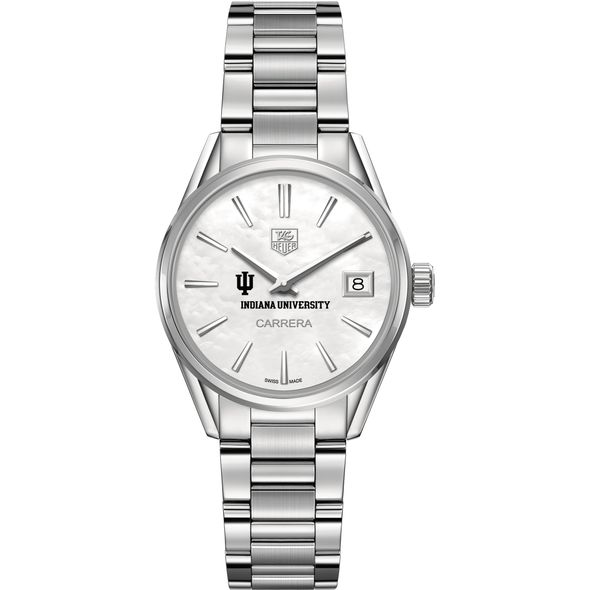 Indiana University Women's TAG Heuer Steel Carrera with MOP Dial - Image 2