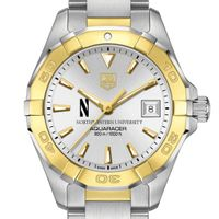 Northwestern Women's TAG Heuer Two-Tone Aquaracer