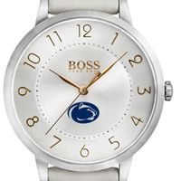Penn State University Women's BOSS White Leather from M.LaHart