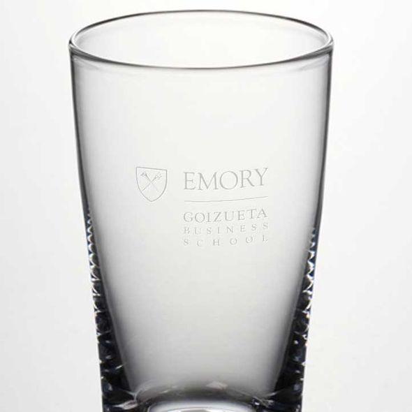 Emory Goizueta Ascutney Pint Glass by Simon Pearce - Image 2