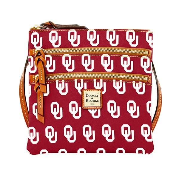 Oklahoma  Dooney & Bourke Triple Zip Bag