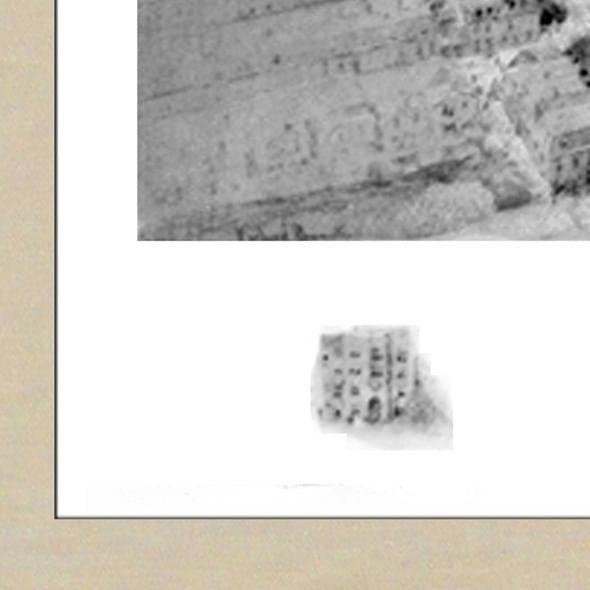 Historic University of Pennsylvania Black and White Print - Image 3