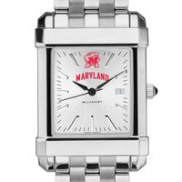 Maryland Men's Collegiate Watch w/ Bracelet