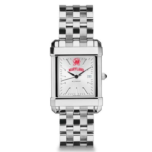 Maryland Men's Collegiate Watch w/ Bracelet - Image 2