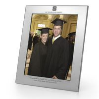 NC State Polished Pewter 8x10 Picture Frame