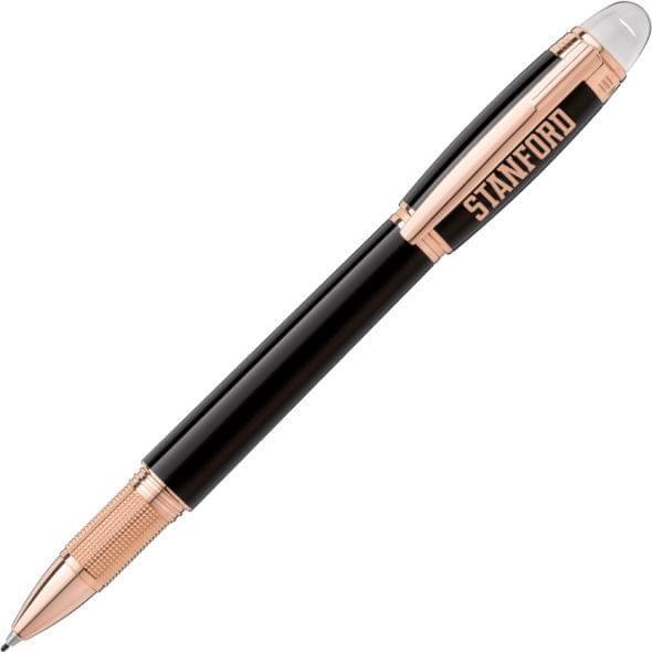 Stanford University Montblanc StarWalker Fineliner Pen in Red Gold