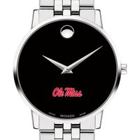 University of Mississippi Men's Movado Museum with Bracelet