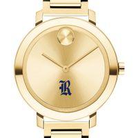 Rice University Women's Movado Gold Bold 34