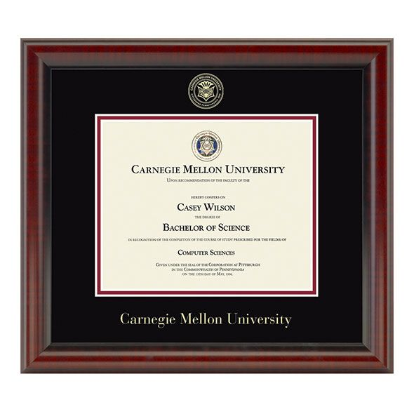 Carnegie Mellon University Diploma Frame, the Fidelitas