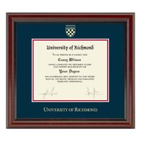 University of Richmond Diploma Frame, the Fidelitas