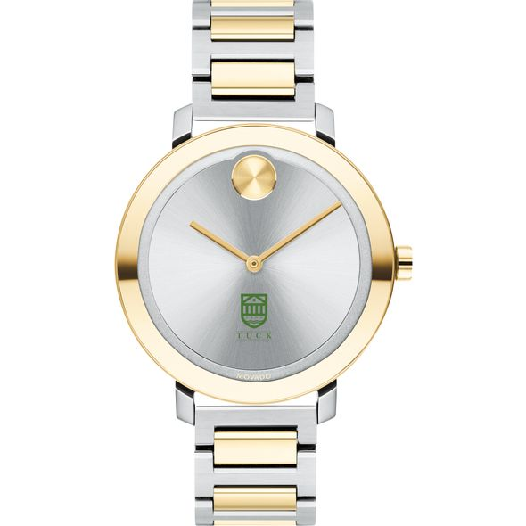 Tuck School of Business Women's Movado Two-Tone Bold 34 - Image 2