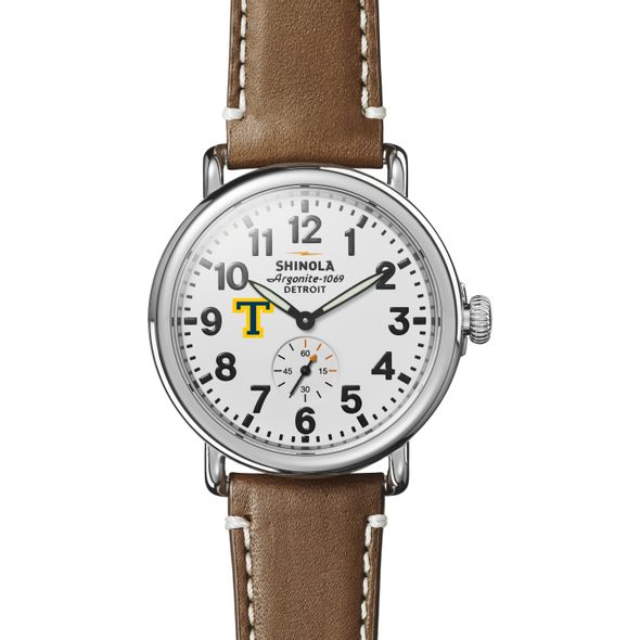 Trinity Shinola Watch, The Runwell 41mm White Dial - Image 2