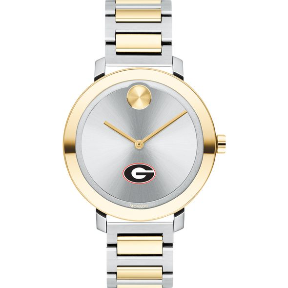University of Georgia Women's Movado Two-Tone Bold 34 - Image 2
