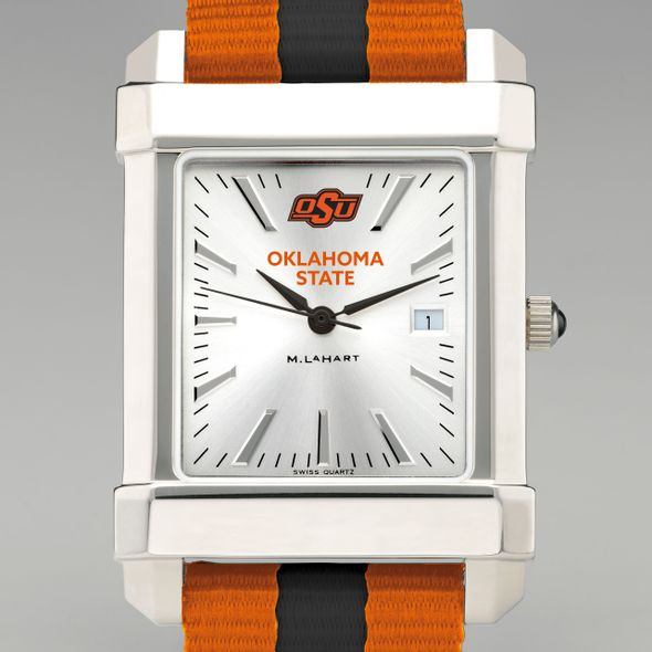 Oklahoma State University Collegiate Watch with NATO Strap for Men - Image 1