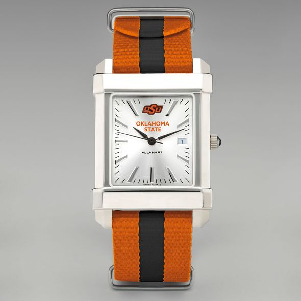 Oklahoma State University Collegiate Watch with NATO Strap for Men - Image 2