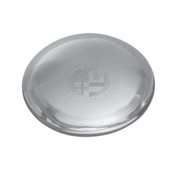 Creighton Glass Dome Paperweight by Simon Pearce