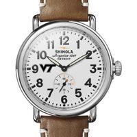 Virginia Tech Shinola Watch, The Runwell 41mm White Dial