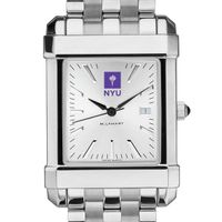 NYU Men's Collegiate Watch w/ Bracelet
