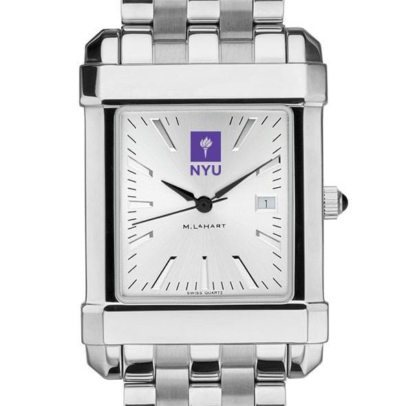 NYU Men's Collegiate Watch w/ Bracelet