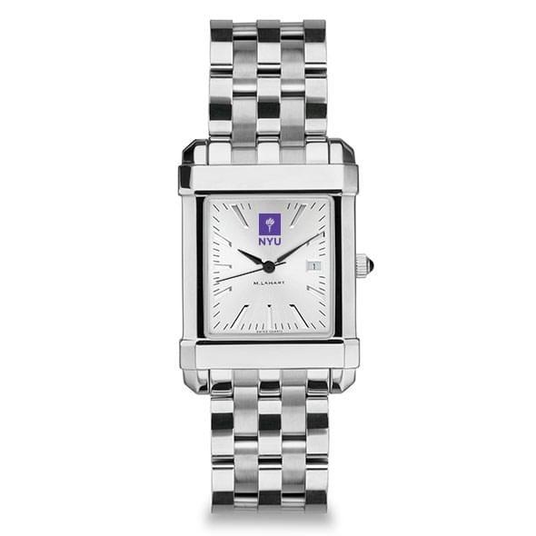 NYU Men's Collegiate Watch w/ Bracelet - Image 2