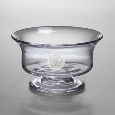 Merchant Marine Academy Medium Glass Revere Bowl by Simon Pearce