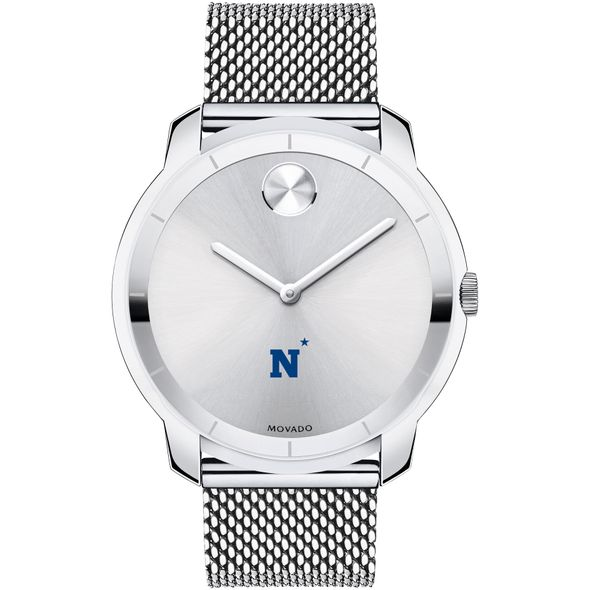 US Naval Academy Men's Movado Stainless Bold 44 - Image 2