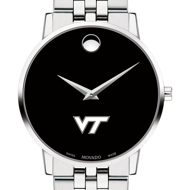 Virginia Tech Men's Movado Museum with Bracelet