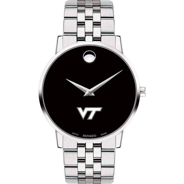 Virginia Tech Men's Movado Museum with Bracelet - Image 2