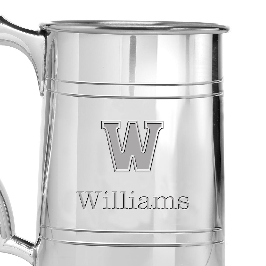 Williams College Pewter Stein - Image 2