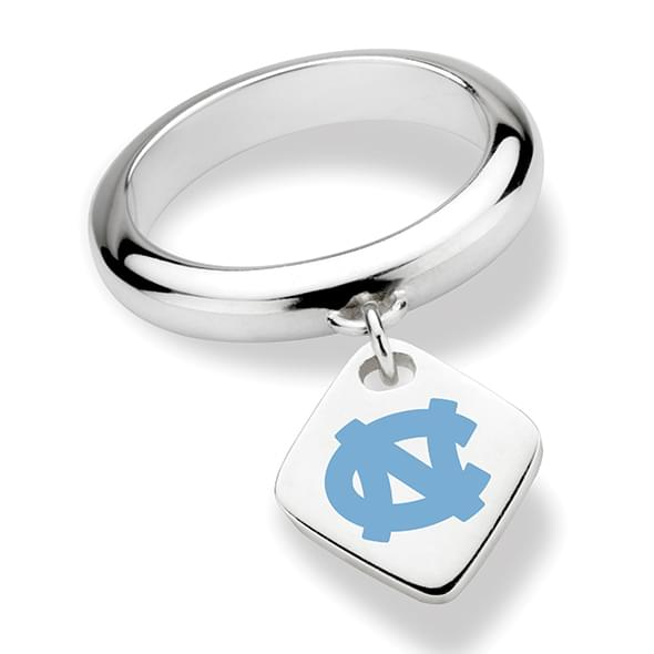 North Carolina Sterling Silver Ring with Sterling Tag