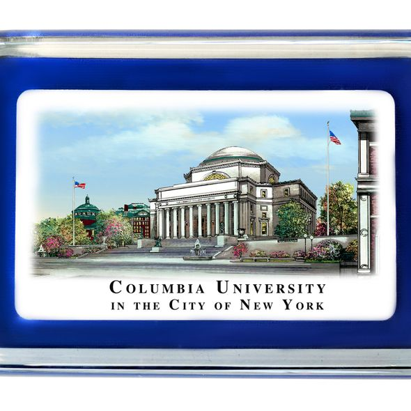 Columbia University Eglomise Paperweight - Image 2