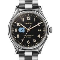 UNC Shinola Watch, The Vinton 38mm Black Dial