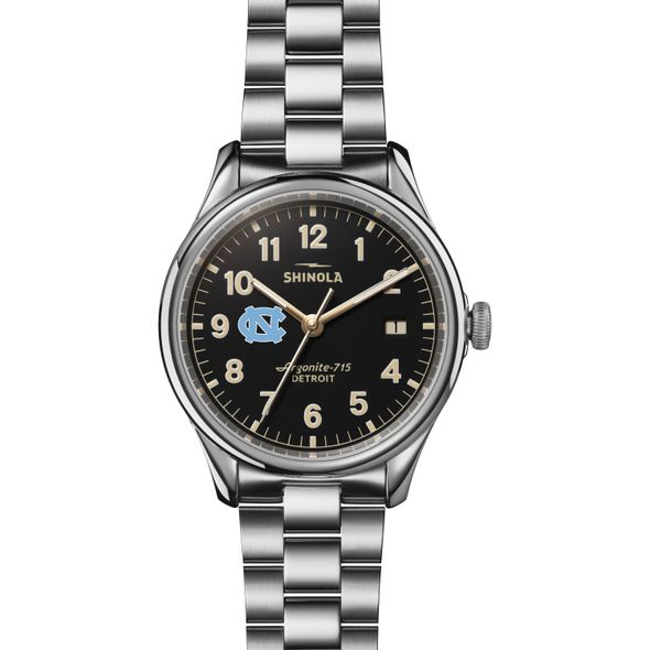 UNC Shinola Watch, The Vinton 38mm Black Dial - Image 2