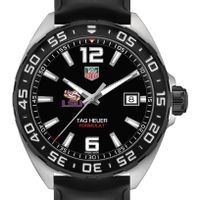 LSU Men's TAG Heuer Formula 1 with Black Dial