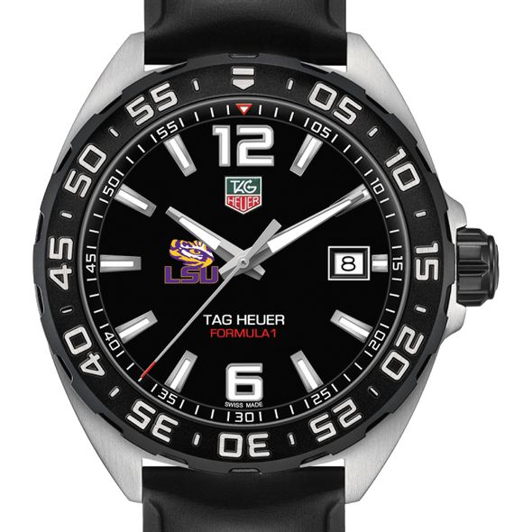 Louisiana State University Men's TAG Heuer Formula 1 with Black Dial