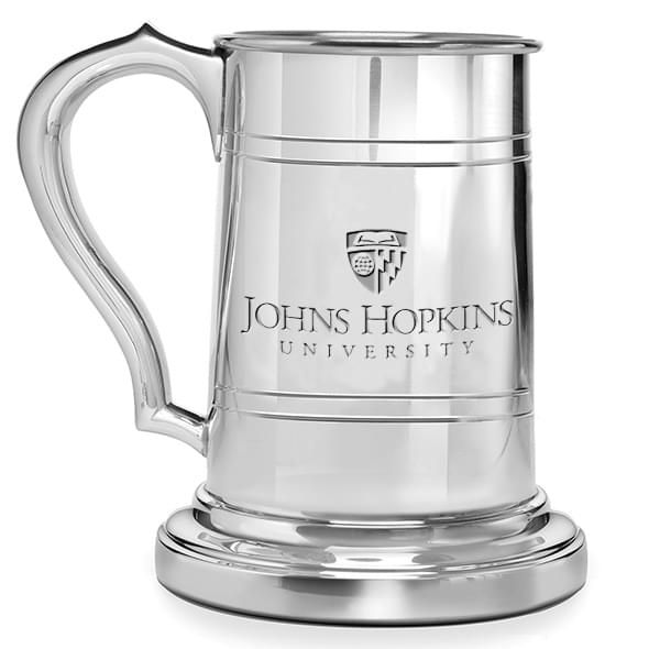 Johns Hopkins Pewter Stein