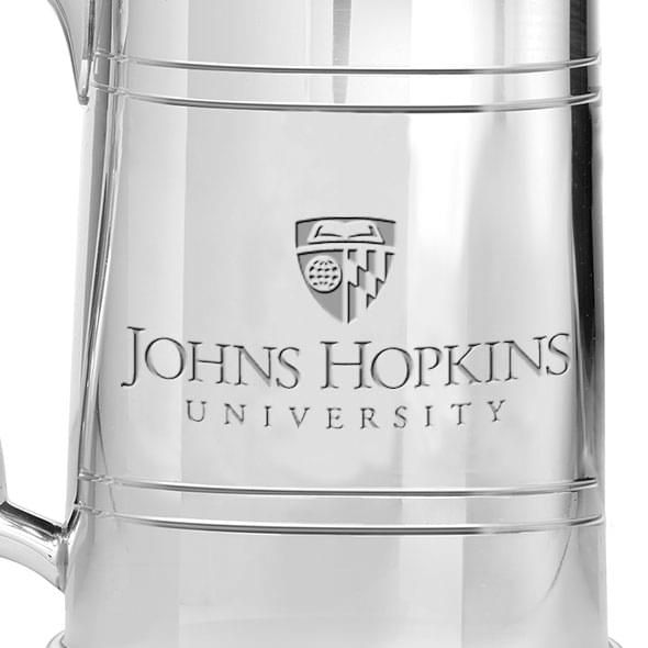 Johns Hopkins Pewter Stein - Image 2