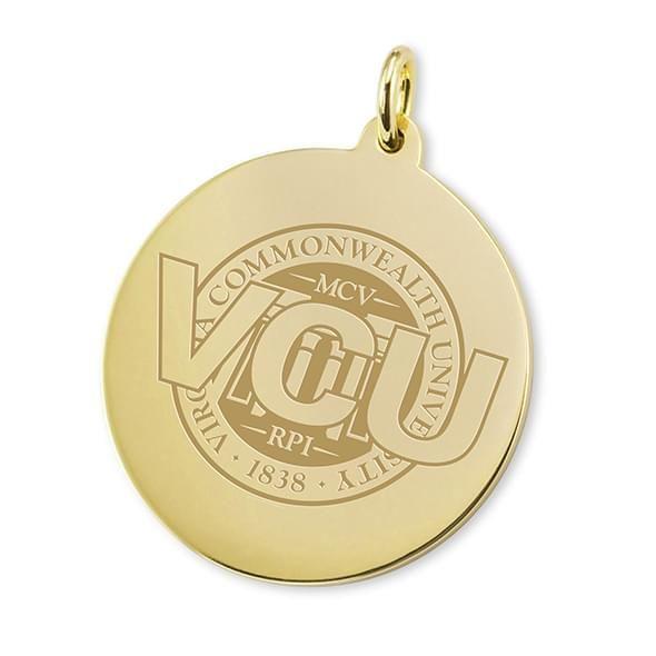 VCU 14K Gold Charm
