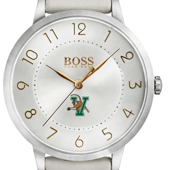 University of Vermont Women's BOSS White Leather from M.LaHart