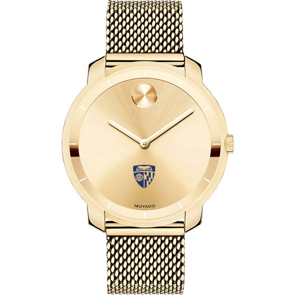 Johns Hopkins University Women's Movado Gold Bold 36 - Image 2