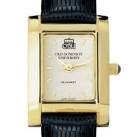 Old Dominion Women's Gold Quad with Leather Strap