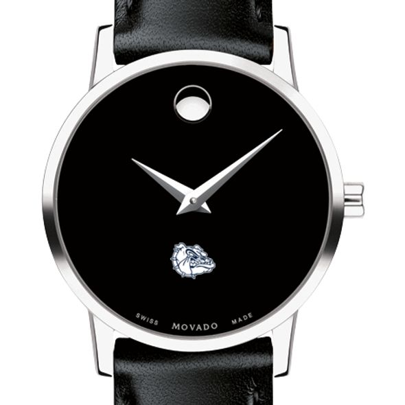 Gonzaga Women's Movado Museum with Leather Strap