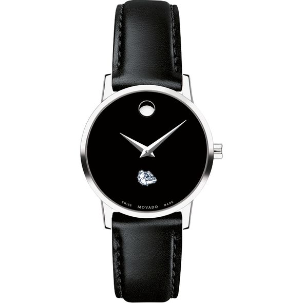 Gonzaga Women's Movado Museum with Leather Strap - Image 2