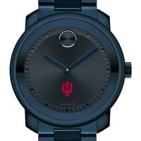 Indiana University Men's Movado BOLD Blue Ion with Bracelet